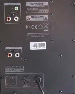 Мультимедиа акустика Microlab M 280 (черный)