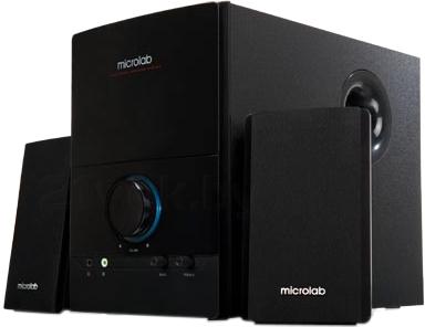 Мультимедиа акустика Microlab M 500 (черный) - общий вид