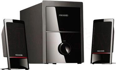 Мультимедиа акустика Microlab M 700 Black (M700-3154) - общий вид