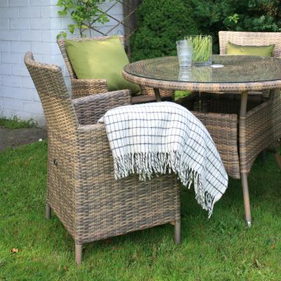 Кресло садовое Garden4you Wicker-1 0946 - пример использования в комплекте