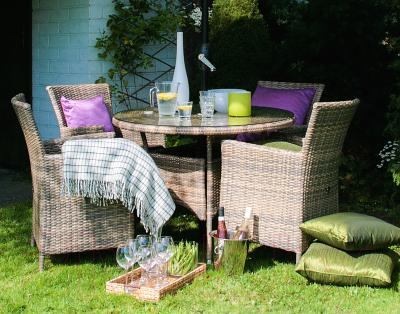 Кресло садовое Garden4you Wicker-1 0946