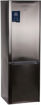Холодильник с морозильником Indesit BIA 18 X