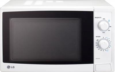 Микроволновка LG MS2021N - вид спереди