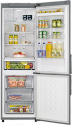 Холодильник с морозильником Samsung RL40ZGMG - Общий вид