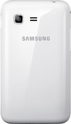 Мобильный телефон Samsung S5222 Star 3 Duos White (GT-S5222 UWASER) - вид сзади