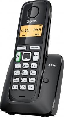 Беспроводной телефон Gigaset A220 (Black) - общий вид