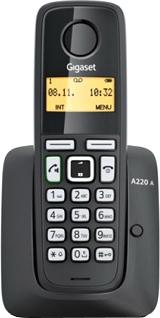 Беспроводной телефон Gigaset A220А - общий вид