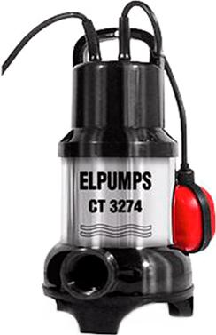 Насос для грязной воды (погружной) Elpumps CT 3274 - Общий вид