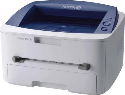 Принтер Xerox Phaser 3160N - вид сбоку
