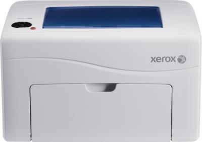 Принтер Xerox Phaser 6010N - фронтальный вид