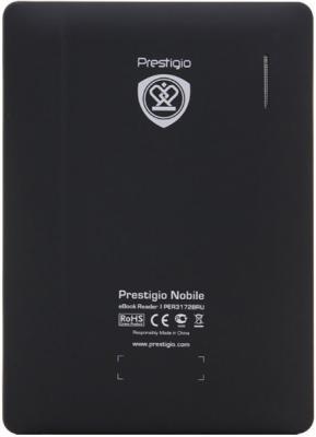 Электронная книга Prestigio PER3172B (microSD 4Gb) - вид сзади