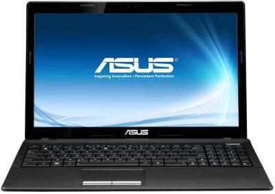 Ноутбук Asus X53BR-SX020D (90N8SI218W21226013AC) - фронтальный вид