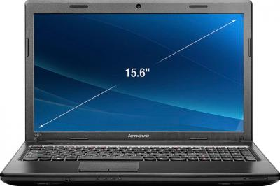 Ноутбук Lenovo G575 (59313766) - фронтальный вид