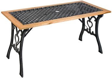 Стол садовый Garden4you TEXAS 05703 - Общий вид