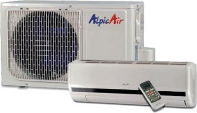 Сплит-система AlpicAir AWI/AWO-20HPR1 - Общий вид