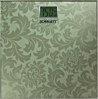 Напольные весы электронные Scarlett SC-217 (зеленый) -