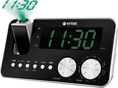 Радиочасы Vitek VT-3514  (Black) - общий вид