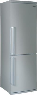 Холодильник с морозильником Sharp SJ-D340V SL - Вид спереди