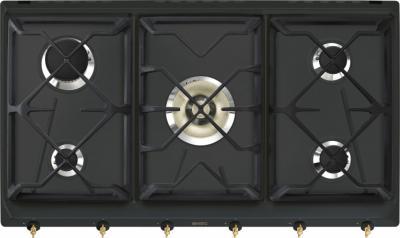 Газовая варочная панель Smeg SR896AGH9 - Общий вид