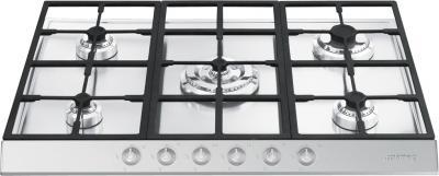 Газовая варочная панель Smeg PTS726-5 - Общий вид