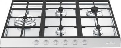 Газовая варочная панель Smeg PTS727-5 - Общий вид