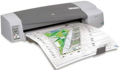 Принтер HP Designjet 111 (CQ533A) - общий вид