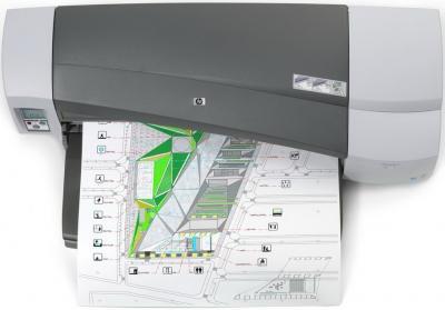 Принтер HP Designjet 111 (CQ533A) - вид сверху