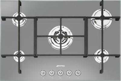 Газовая варочная панель Smeg PV750S - Общий вид
