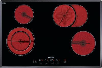 Электрическая варочная панель Smeg SE2772CX2 - Общий вид