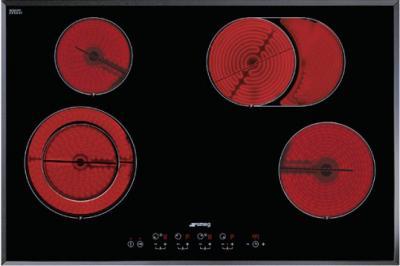 Электрическая варочная панель Smeg SE2772TC2 - Общий вид