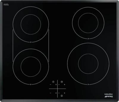Индукционная варочная панель Smeg SI3642B - Общий вид