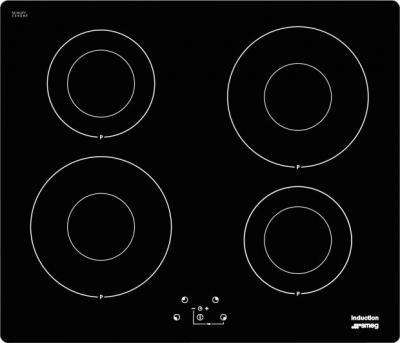 Индукционная варочная панель Smeg SI641ID2 - Общий вид