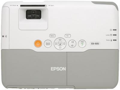 Проектор Epson EB-905 - вид сверху