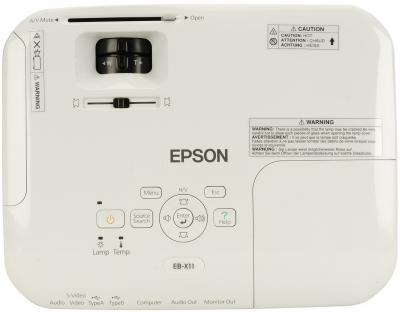 Проектор Epson EB-X11 - вид сверху