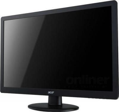 Монитор Acer S220HQLBBD (ET.WS0HE.B01) - общий вид