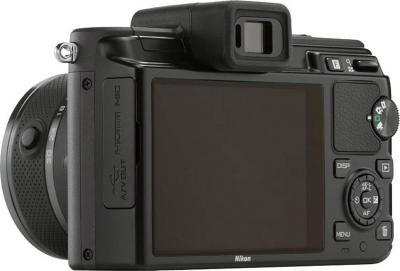 Беззеркальный фотоаппарат Nikon 1 J1 Kit 10-30mm Black - общий вид