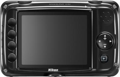 Компактный фотоаппарат Nikon Coolpix S30 (Black) - вид сзади