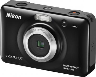 Компактный фотоаппарат Nikon Coolpix S30 (Black) - общий вид
