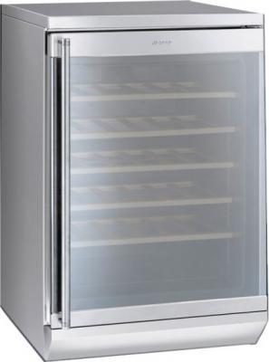 Винный шкаф Smeg SCV36X1 - Общий вид