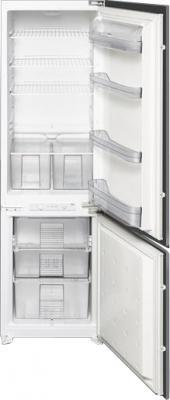 Холодильник с морозильником Smeg CR312A - Общий вид