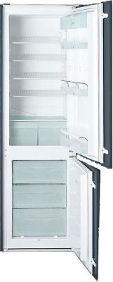 Холодильник с морозильником Smeg CR321A - Вид спереди