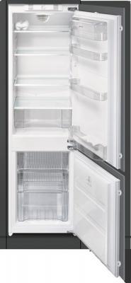 Холодильник с морозильником Smeg CR322ANF - Вид спереди