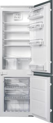 Холодильник с морозильником Smeg CR325P - общий вид