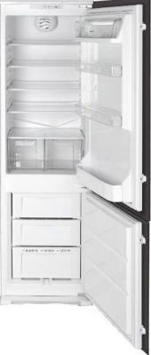 Холодильник с морозильником Smeg CR327AV7 - Вид спереди