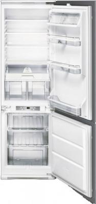 Холодильник с морозильником Smeg CR329APLE - Вид спереди