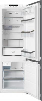 Холодильник с морозильником Smeg СB30PFNF - Общий вид