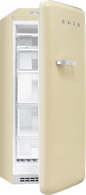 Морозильник Smeg CVB20RP - Вид с открытой дверцей