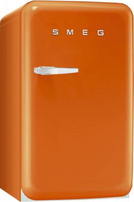 Холодильник с морозильником Smeg FAB10RO - Вид спереди