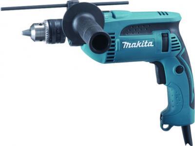Профессиональная дрель Makita HP1640 - общий вид