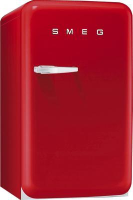 Холодильник с морозильником Smeg FAB10RR - Вид спереди